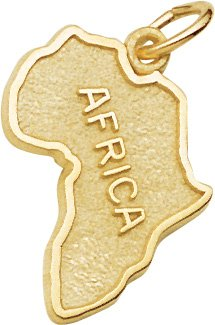Africa Charm by Rembrandt Charms