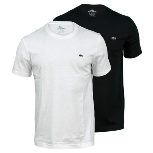 Lacoste Men's Short Sleeve Classic Jersey T-Shirt -White (XL)