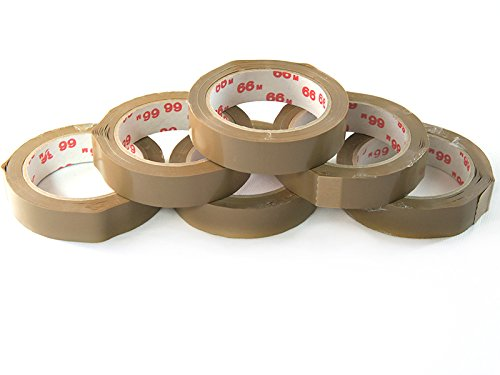 tape-dispenser-packing-tape-set-of-6-each-66-m-width-25-mm-adhesive-tape-brown