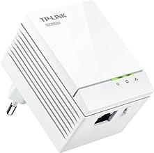 TP-Link AV600 Powerline Gigabit - Adaptador de comunicación por línea eléctrica, blanco