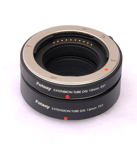 Fotasy Auto Focus Marco Extension Tube (10mm, 16mm, 26mm) for Fujfifilm X Mount Camera X-Pro1 X-E1