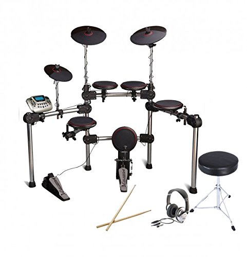Carlsbro-CSD200-Electronic-Digital-Drum-Kit-With-Upgrade-Pack