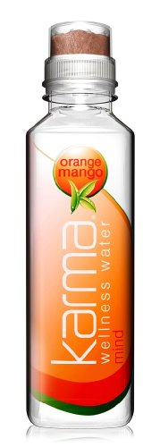 Karma Culture Wellness Water Mind Sharper Thinking, Orange Mango, 12-Count