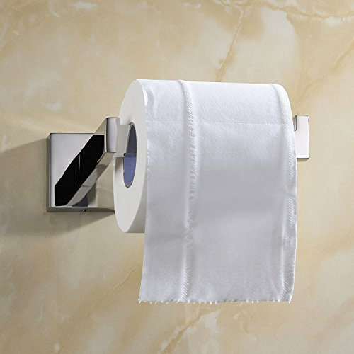 Luxury 304 Stainless Steel Chrome Finished Toilet Paper