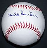 Duke Snider Autographed Ball - Official Ml - Autographed Baseballs