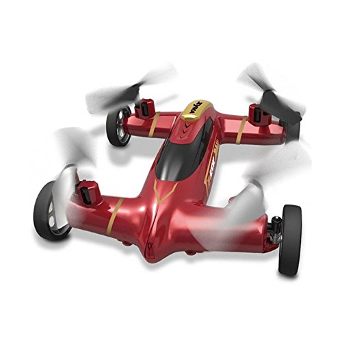 ZCH Syma X9 Fly Car 4 Channel 2.4Ghz RC Quadcopter 3D Rolling 360 Degree Eversion Drone Flying RC Aircraft