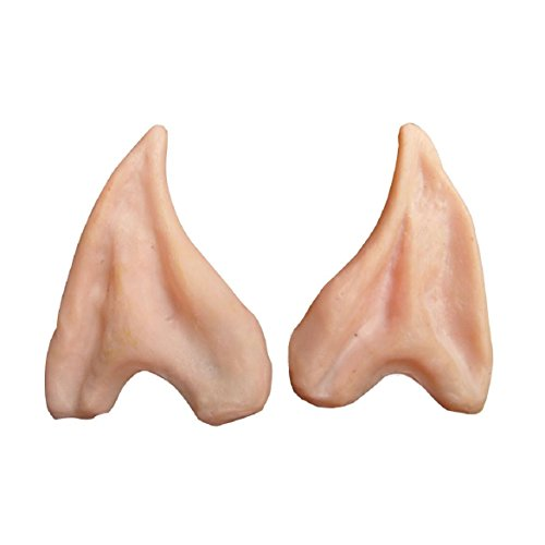 Susenstone®1Pair Pointed Fairy, Elf Cosplay, Halloween Costume Ear Tips