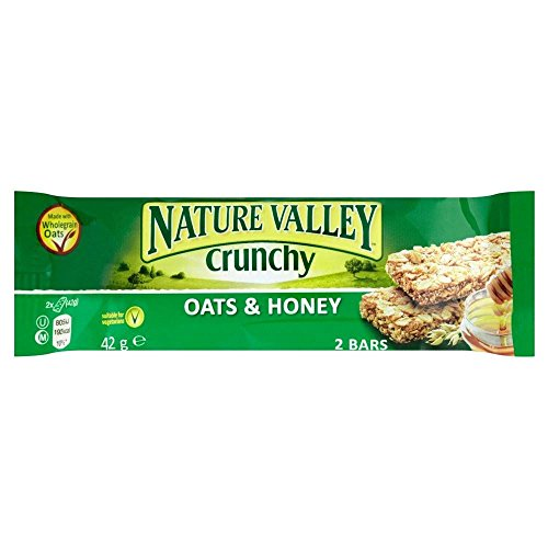 Nature Valley Crunchy Granola Bars Oats & Honey 6 X 42G by Nature Valley