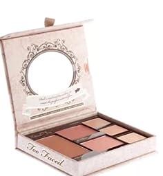 Too Faced Natural Face Natural Radiance Face Palette 0.28oz Bronzing Veil, 0.1 Creme Blush, 0.11oz Powder Blush, 0.05oz