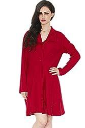 Divaat Warm Me Up Red Coat