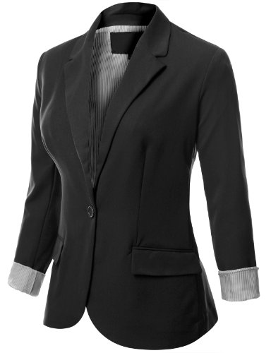 GOOD LUCK GEM Boyfriend Blazer at Nordstrom Rack - Womens Jackets - Womens Blazers - Womens Coats A solid construction and notch lapel collar add classic styling to this midweight blazer. Fit: this style fits true to size.