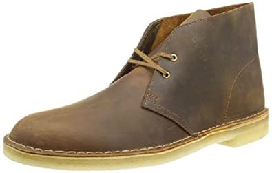Clarks Men Beeswax Desert Boots-UK 7