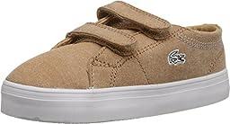 Lacoste Unisex Marcel Chunky SEG SP15 (Toddler/Little Kid) Tan/Tan Sneaker 6 Toddler M
