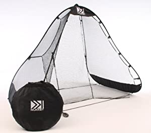 Pop-up Practice Golf Net Black Max by RUKKET