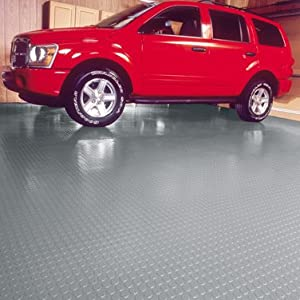 8x22 Coin Garage Floor Mat Sandstone