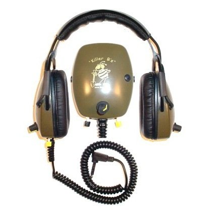 Killer B Hornet Optima Headphones For Metal Detecting Fits Various Metal Detectors