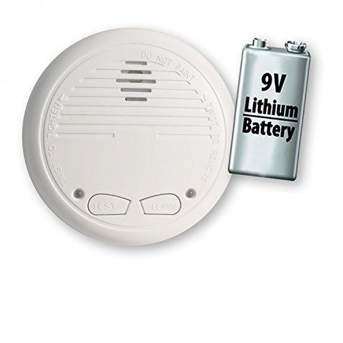 1 Nemaxx WL10 Funkrauchmelder mit 10 Jahre Lithium Batterie Rauchmelder Brandmelder Set Funk koppelbar vernetzt - nach EN 14604
