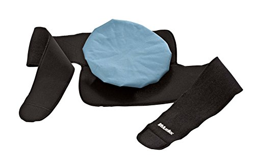 Mueller B & K Mueller Icebag Wrap, Black, One Size