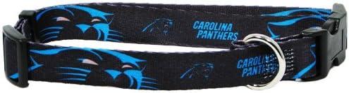 Hunter MFG Carolina Panthers Dog Collar, Small