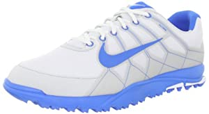 Nike Golf Men's Nike Air Range WP II Golf Shoe,White/Neutral Grey/Photo Blue,11 M US