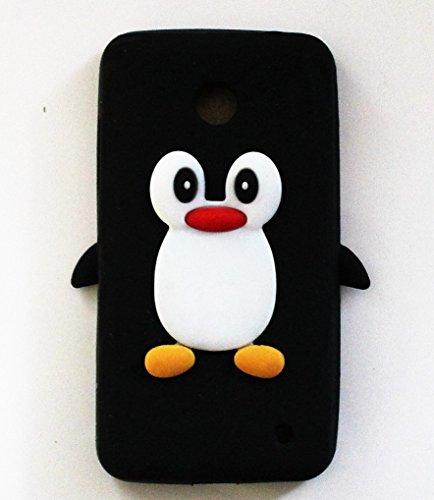 silicona-tpu-case-3d-pinguino-negro-para-movil-nokia-lumia-635-funda-carcasa-bumper-back-case-cover
