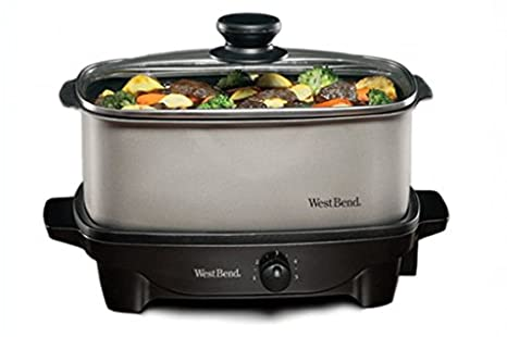 West Bend 84905 Oblong Shaped Slow Cooker