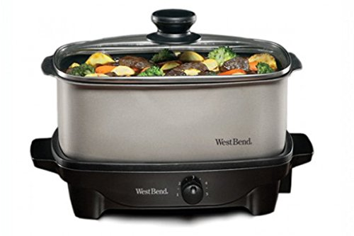 Focus Electrics West Bend 84905 Oblong Slow Cooker, 5-Quart (Slow Cooker Hot Pot compare prices)