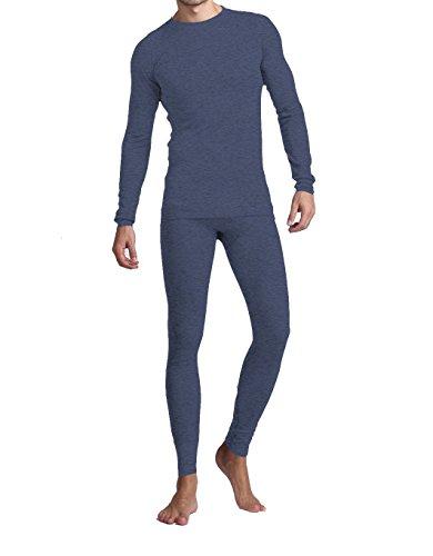 American Casual Men's Soft Comfort' Premium Thermal Set (2XL, Charcoal Grey) (Thermal Pajama Men compare prices)