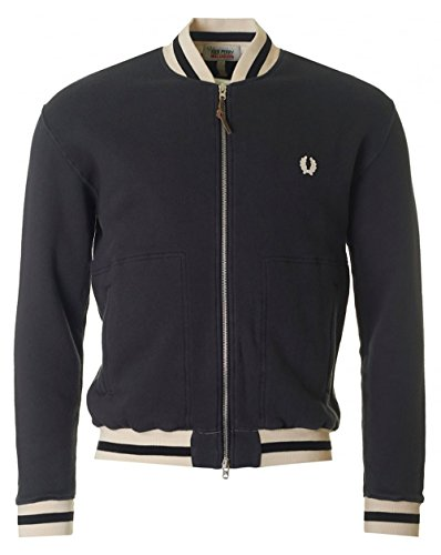 fred-perry-x-nigel-cabourn-sweat-bomber-jacket-washed-out-black-medium