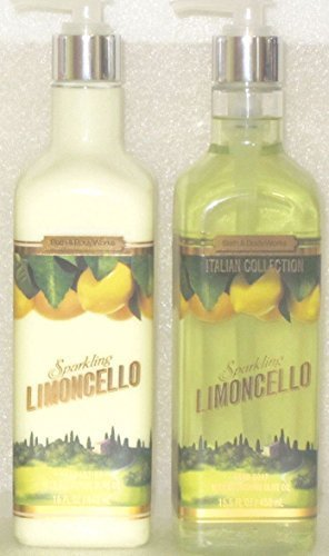 discount duty free Sparkling Limoncello Hand Soap & Lotion Olive Oil 15.5 Oz each (Set of Two) by Bath & Body Works