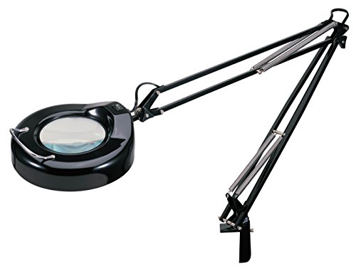V-LIGHT Full Spectrum Natural Daylight Effect Heavy-Duty Magnifier Lamp with Metal Clamp, Black (VS103B) (Sewing Work Light compare prices)