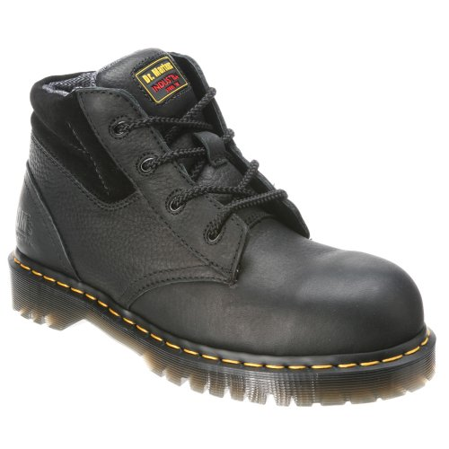 Dr. Martens Men's 7B09 Steel Toe Boots