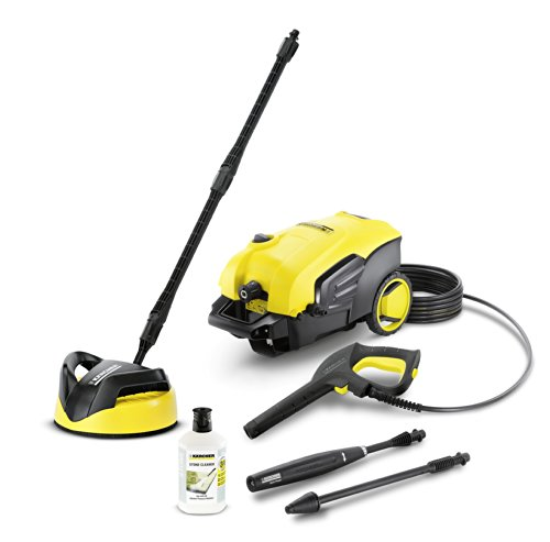 Kärcher K5 Compact Home High Pressure Washer With Home Kit - Yellow
