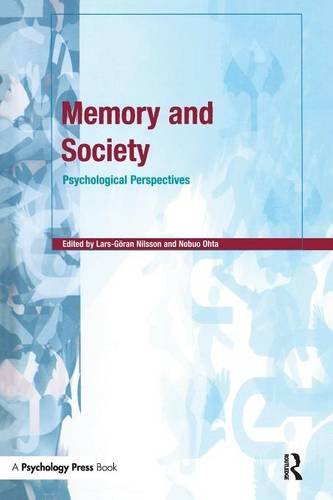 Memory and Society: Psychological Perspectives