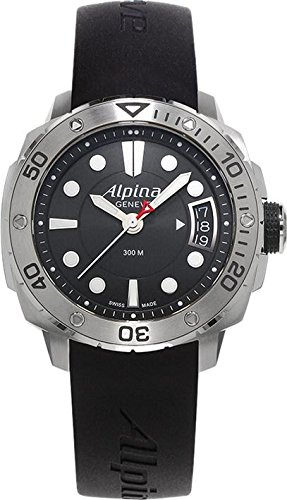 Alpina Adventure Extreme Diver AL240LB3V6 38mm Stainless Steel Case Black Rubber Anti-Reflective Sapphire Women's Watch