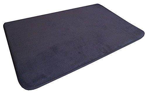 Brown Dog Bed Memory Foam Large Pet Beds Mat Pad 20 X 32 No Slip Backing Luxury Soft Comfort