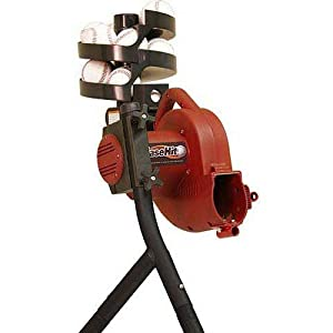 Trend Sports Base Hit Real Pitching Machine by Trend Sports