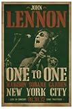 1art1 48902 John Lennon - One To One Concert, Madison Square Garden, NYC, 30.08.72 Poster 91 x 61 cm