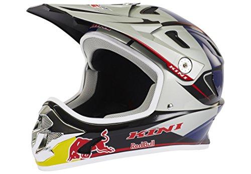Kini Red Bull MTB Helmet blue/white Kopfumfang 58 cm 2016 Fullface Helm