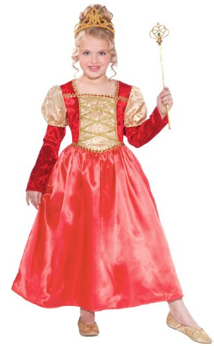 Golden Garnet Princess Child Costume Dress, Toddler