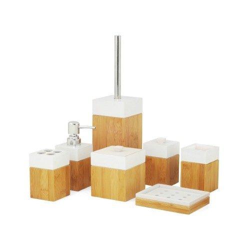 Badm bel aus holz bambus ist am besten for Accessoire salle de bain avec ventouse