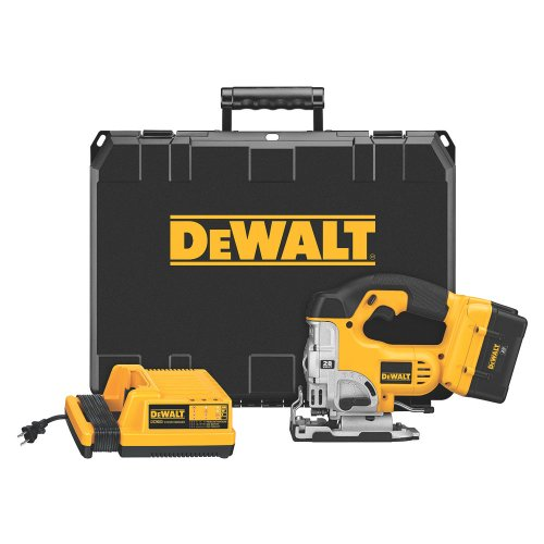 DEWALT DC318K 28-Volt Lithium-Ion Cordless Jig Saw Kit with Nano Technology