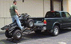 Atv/lawnmower Truck Loading Ramp