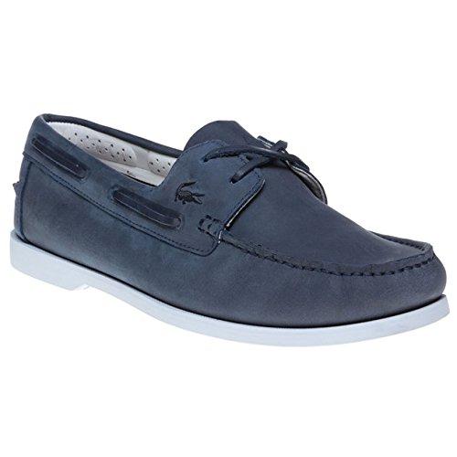 Lacoste Navire Premium Uomo Scarpe Blu
