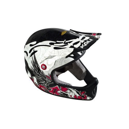 Buy Low Price Kali Protectives Avatar Full-Face FR/DH Bike Helmet Sound Black XL (B0087HTCES)