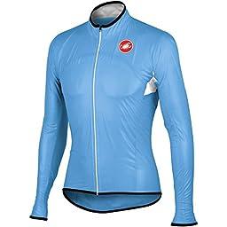 Castelli Sottile Due Jacket Drive Blue, XL - Men\'s