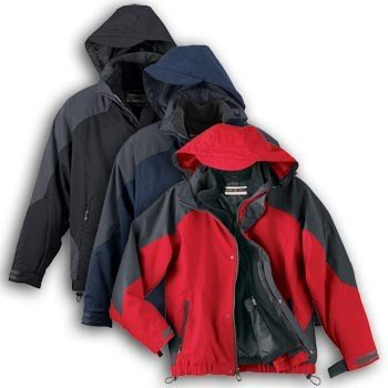 Buy Low Price North End Mens Techno Performance 3-In-1 Seam-Sealed Waterproof Bomber Coat, a Mens Coat at Affordable Price