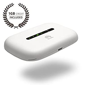 Keepgo Global Lifetime Mobile WiFi Hotspot for Europe, Asia & the Americas + 1GB credit
