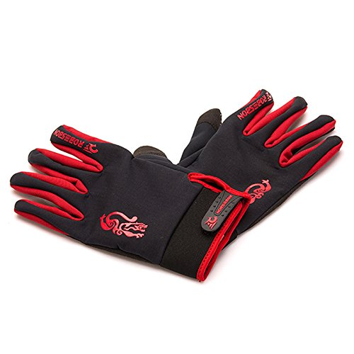 ROBESBON Winter Sport Thermal Gloves Windproof Bike Motorcycle Full Finger Cycling Gloves for Women Running