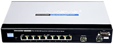 Cisco SRW2008MP 8-port Gigabit Switch - WebView/Max PoE